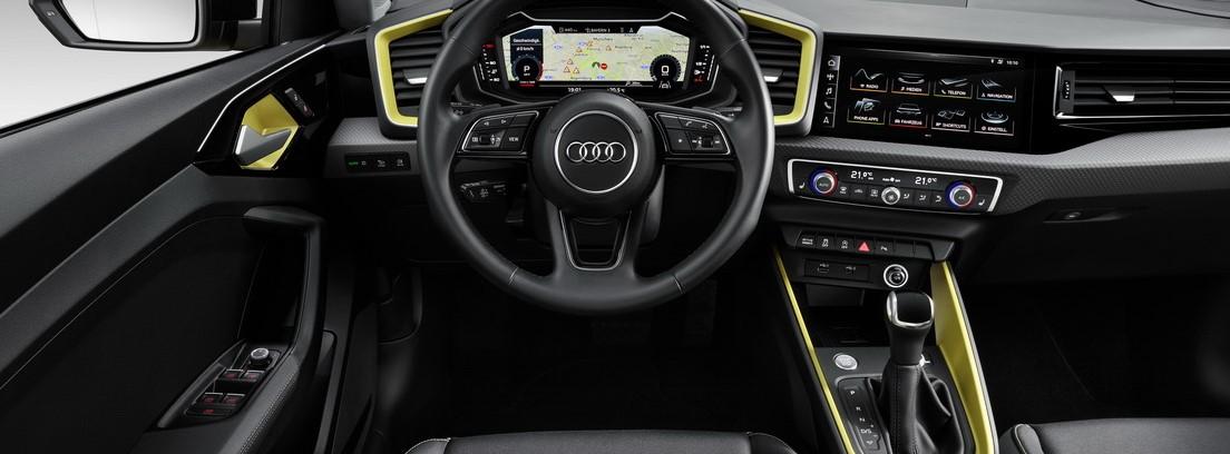 Interior y volante del nuevo Audi A1 Sportback