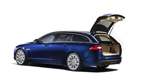 El Jaguar XF Sportbrake puede llegar a 1.675 litros de capacidad de maletero.