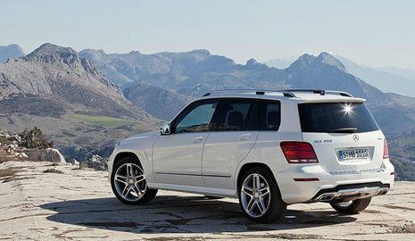 El Mercedes GLK 2012 combina rasgos de 4x4 y berlina