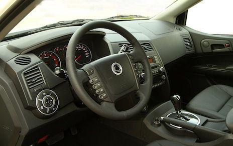 Interior SsangYong Actyon Sports