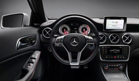 Interior Mercedes Clase A 2012