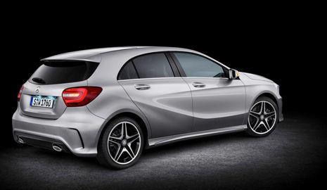 Trasera del nuevo Mercedes Clase A