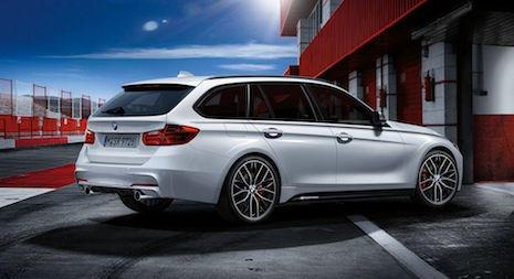 BMW 320d Touring M Performance