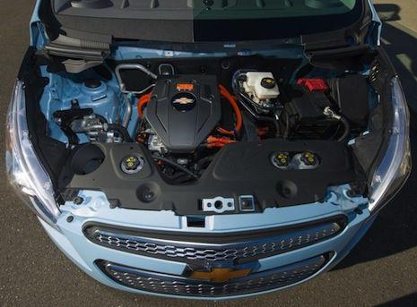 Motor del Chevrolet Spark EV