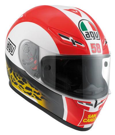 Casco integral AGV GP-Tech Marco Simoncelli
