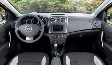 Interior Dacia Sandero Stepway