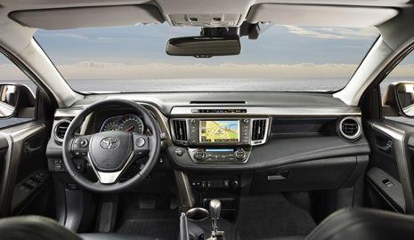 Interior Toyota RAV-4