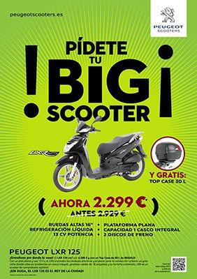 Scooter Peugeot LXR 125