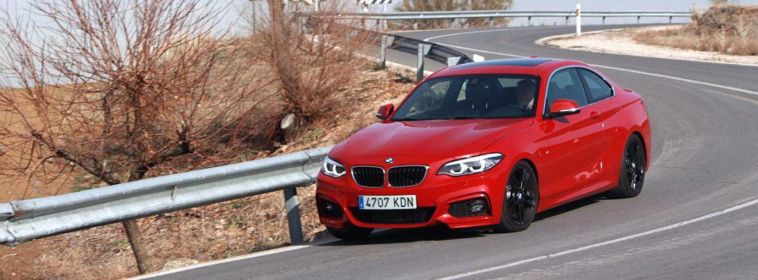 BMW serie 2 con frenos tipo m