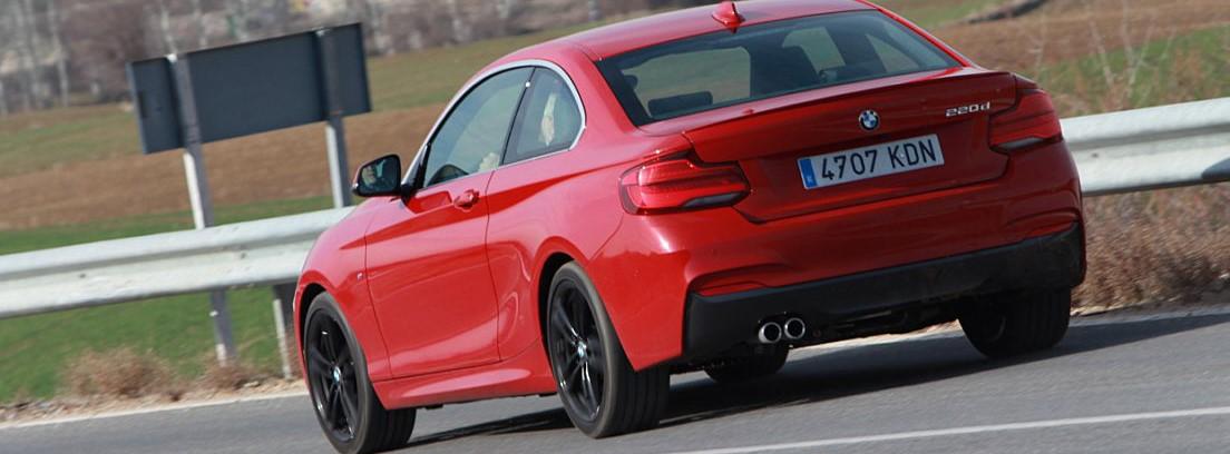 BMW serie 2 coupé, con estética avanzada