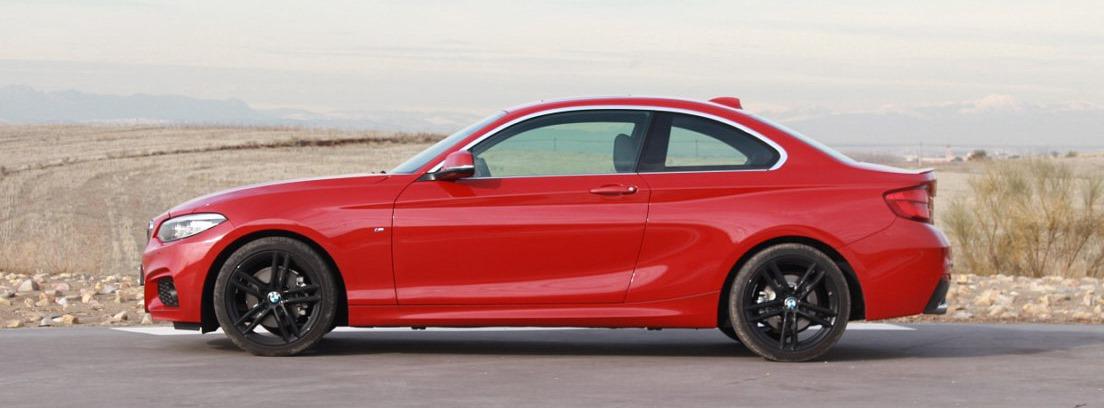 El nuevo BMW serie 2 coupé gana en ancho de vias