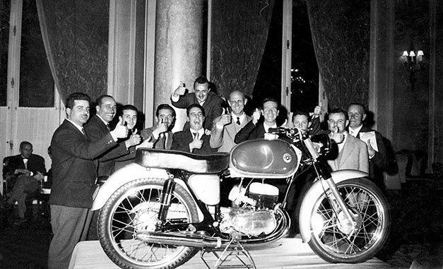 Presentación Bultaco 1958