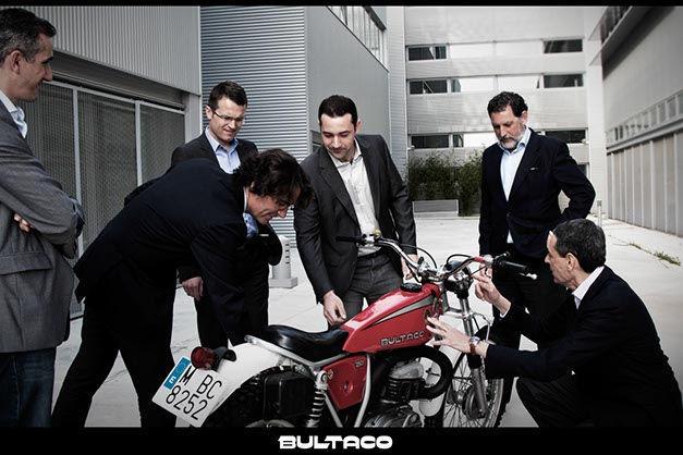 Nuevo equipo de Bultaco