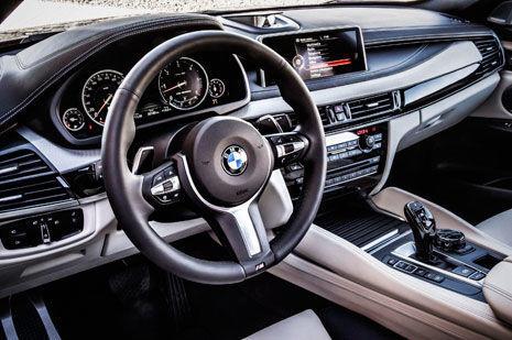 Interior del BMW X6