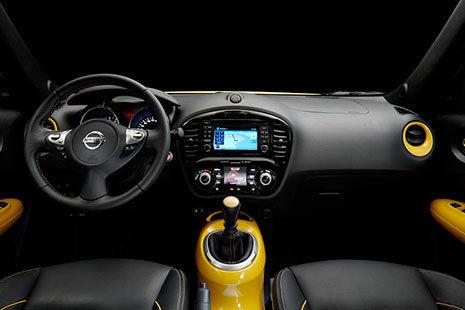 Interior del Nissan Juke 2014
