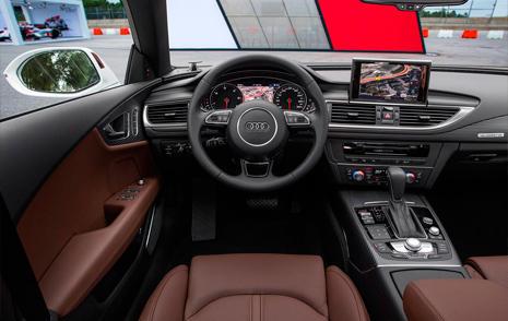 Interior del Audi A7 Sportback