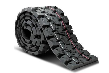 Banda de rodadura de un neumático