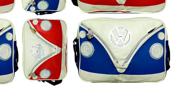 Bolsos y bolsas con el frontal de la Volkswagen Camper