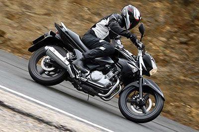 Mandos de una moto