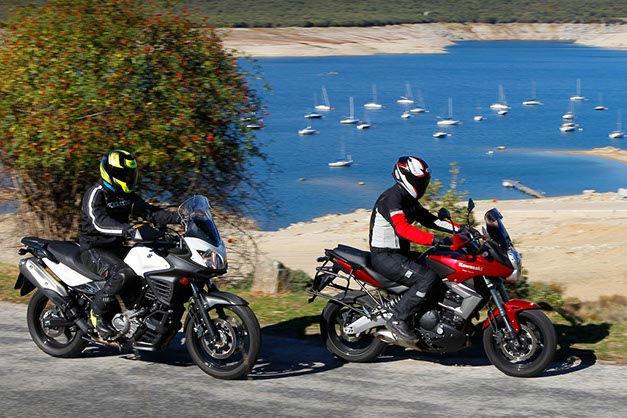 Kawasaki Versys 650 y Suzuki V-Strom 650