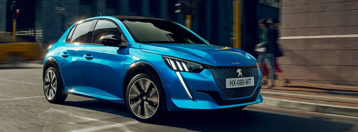 Peugeot 208 azul