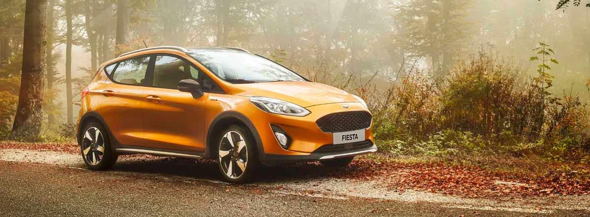 Ford Fiesta naranja
