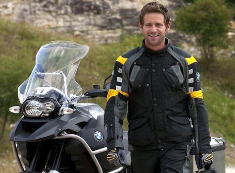 Cazadora de moto