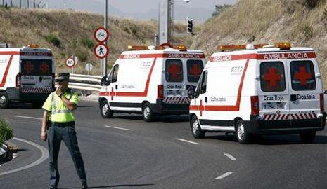 Ambulancias de la Cruz Roja
