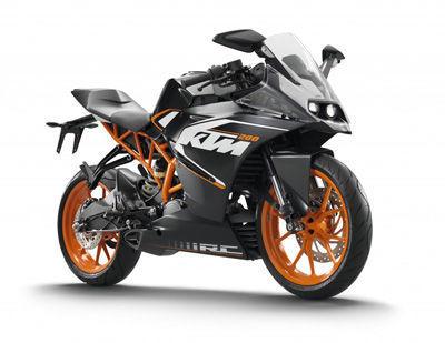 KTM RC200 2014
