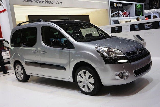 Citroën Berlingo/Peugeot Partner 2015