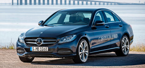 Mercedes C 350 Plug In Hybrid 2015