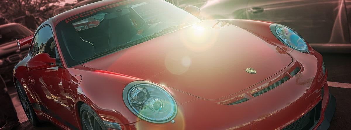 Coche alemán roco de la marca Porsche