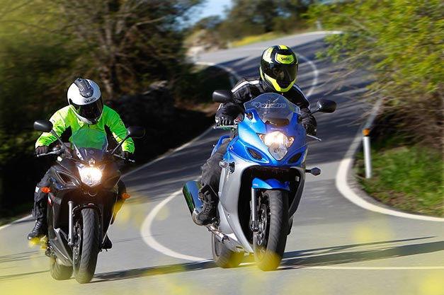 Suzuki GSX650F y Yamaha XJ6 Diversion