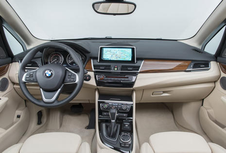 Interior del BMW Serie 2 Active Tourer
