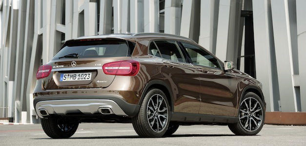 Mercedes-Benz GLA, un SUV exclusivo
