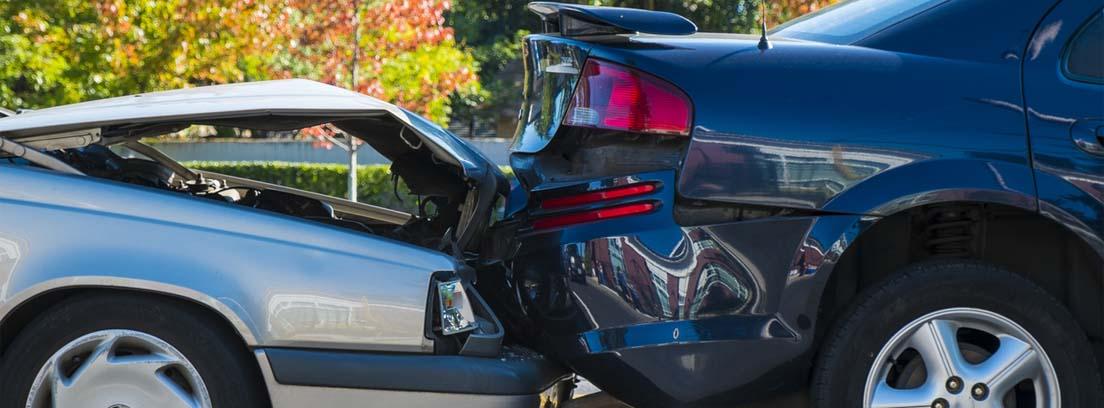 accidente de dos coches