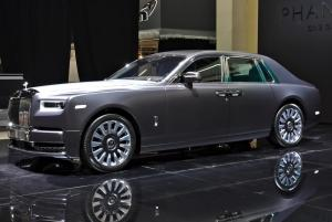 Phantom Rolls-Royce expuesto