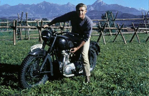 Steve McQueen y su Triumph