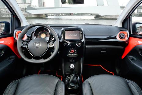 Interior Toyota Aygo 2015