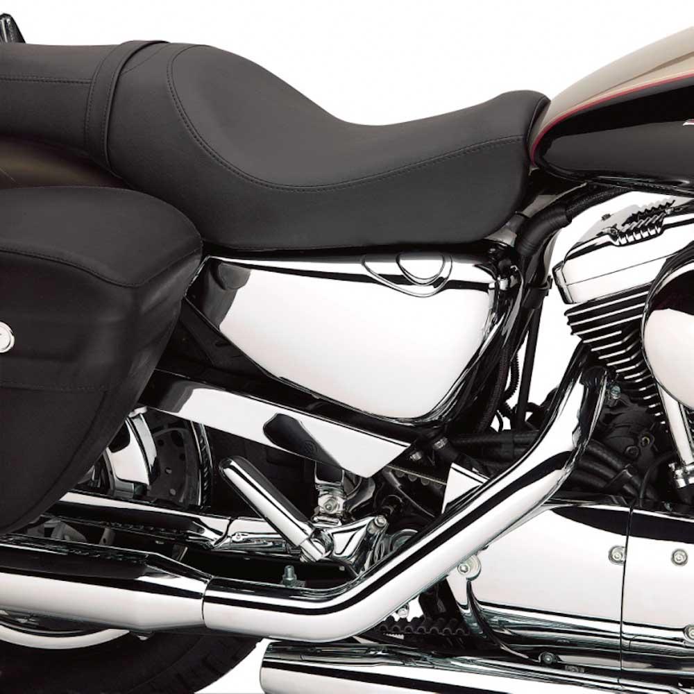 Tapa del depósito de aceite cromada Harley Davidson