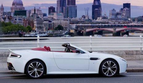 Aston Martin V12 Roadster