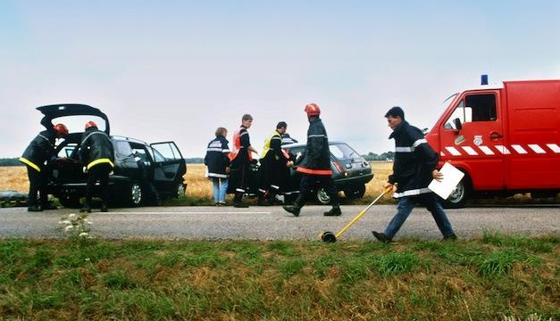 Investigación accidente de tráfico