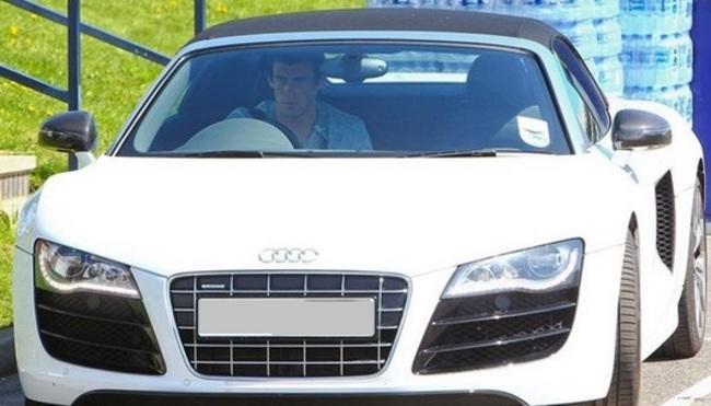 Gareth Bale: Audi R8 GT