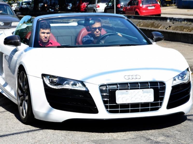 Neymar: Audi R8 GT