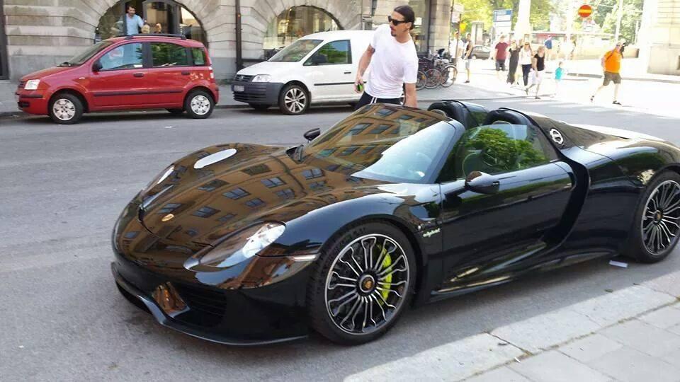 Zlatan Ibrahimovic: Porsche Spyder