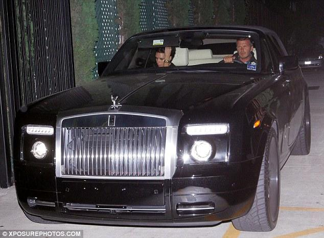 David Beckham: Rolls Royce Phantom