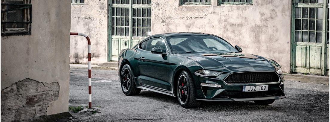 Ford Mustang Bullitt verde