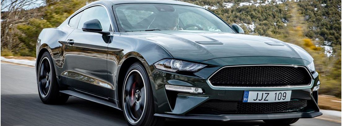 Nuevo Ford Mustang Bullitt edición limitada