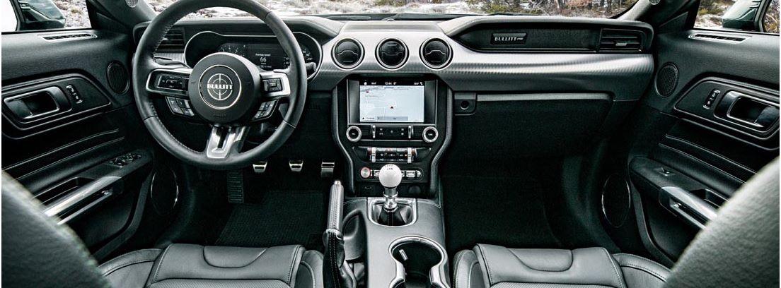 Nuevos colores y llantas, nuevos faros de diodos para el Ford Mustang Bullitt