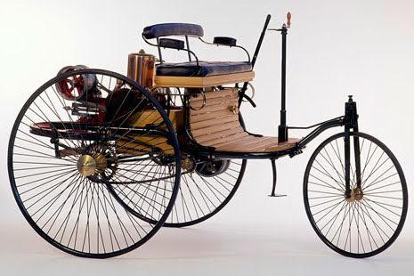 Benz Patent Motorwagen, 1886